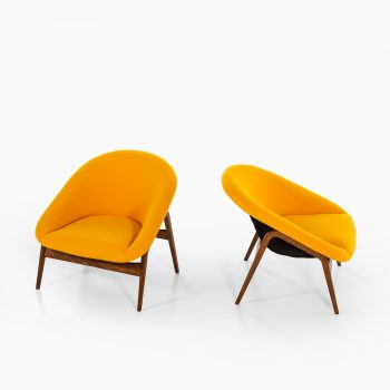 Harmut Lohmeyer easy chairs model Columbus at Studio Schalling