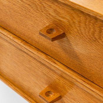 Östen Kristiansson vanity table in oak at Studio Schalling
