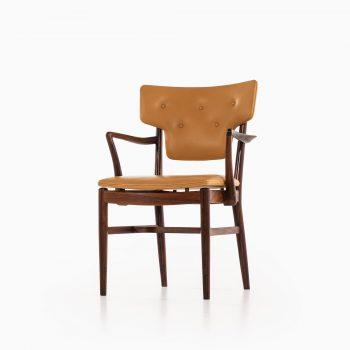 Acton Bjørn & Vilhelm Lauritzen attributed armchair in rosewood at Studio Schalling