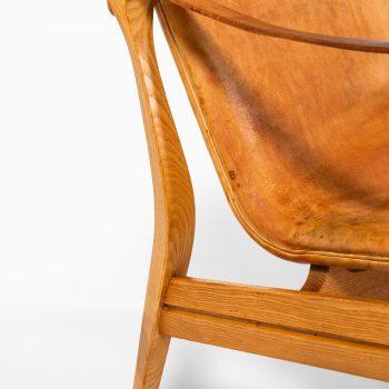 Karen & Ebbe Clemmensen easy chairs by Ludvig Pontoppidan at Studio Schalling