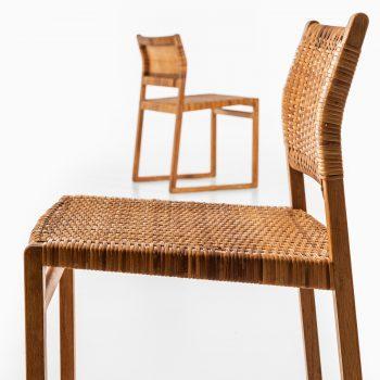 Børge Mogensen dining chairs model BM-61 at Studio Schalling