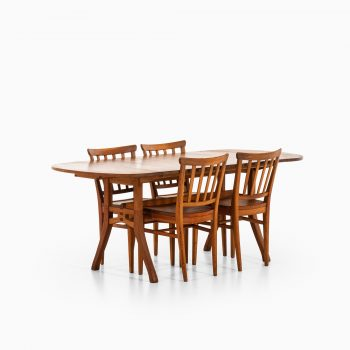 Carl Malmsten dining chairs in pine at Studio Schalling
