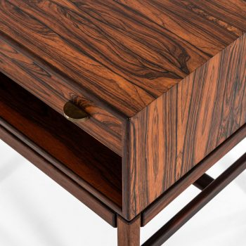 Sven Engström & Gunnar Myrstrand bedside tables in rosewood at Studio Schalling