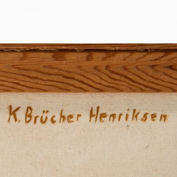 Karl Brücher Henriksen oil painting at Studio Schalling