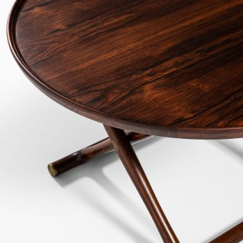 Mogens Lassen Egyptian coffee table in rosewood at Studio Schalling