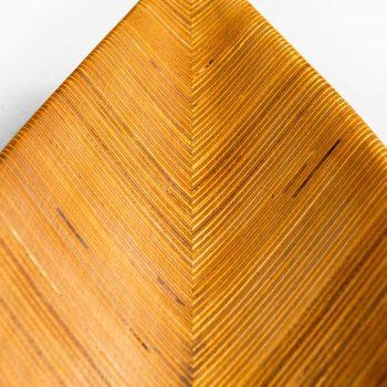 Tapio Wirkkala large tray in laminated birch at Studio Schalling