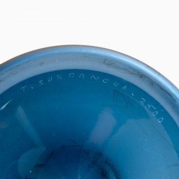 Timo Sarpaneva glass vase model Pullo at Studio Schalling