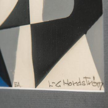Lars-Gunnar Nordström serigraph at Studio Schalling