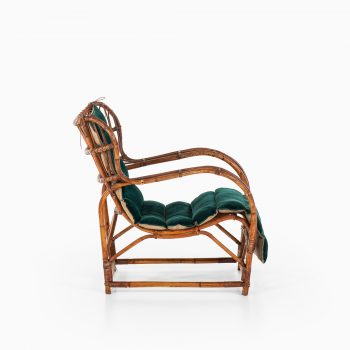Viggo Boesen easy chair by E.V.A. Nissen & Co at Studio Schalling