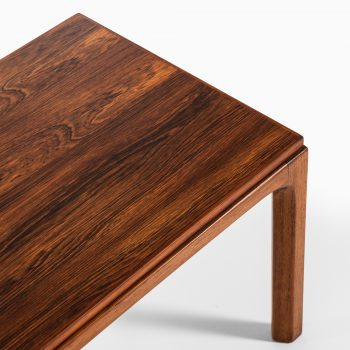 Kai Kristiansen set of 3 side tables and stool in rosewood at Studio Schalling
