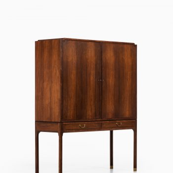 Ole Wanscher cabinet in rosewood and brass at Studio Schalling