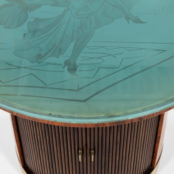 Art Deco coffee table attributed to Ernst Kühn at Studio Schalling