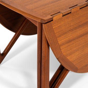 Niels Kofoed gateleg dining table in teak at Studio Schalling