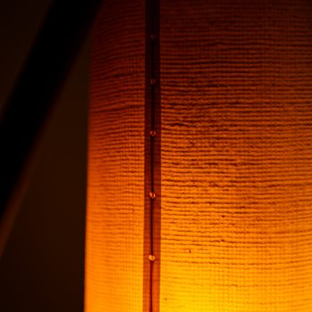 Svend Aage Holm Sørensen floor lamp Fishing pole at Studio Schalling