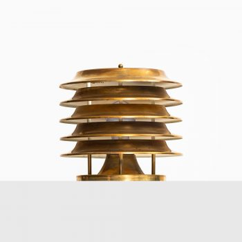 Kai Ruokonen table lamp in brass by Lynx at Studio Schalling