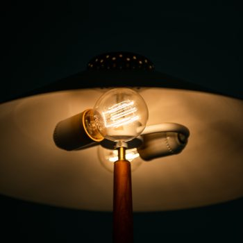 Table lamp produced by Boréns at Studio Schalling