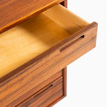 Ib Kofod-Larsen bureau in teak and rosewood at Studio Schalling