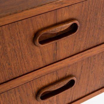 Vanity / dressing table in teak at Studio Schalling