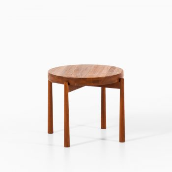 Jens Harald Quistgaard attributed side table in teak at Studio Schalling