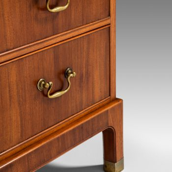 Kaare Klint attributed bureau in mahogany and brass at Studio Schalling