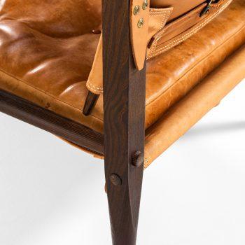 Kaare Klint safari chair by Rud Rasmussen at Studio Schalling