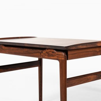 Peter Hvidt & Orla Mølgaard-Nielsen side tables in solid rosewood at Studio Schalling