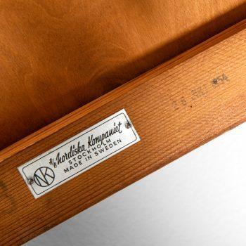 David Rosén bedside / side tables in mahogany at Studio Schalling