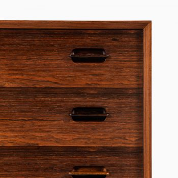 Ejvind A. Johansson bureau model 91 in rosewood at Studio Schalling