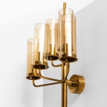 Hans-Agne Jakobsson wall lamps model V-169/5 at Studio Schalling