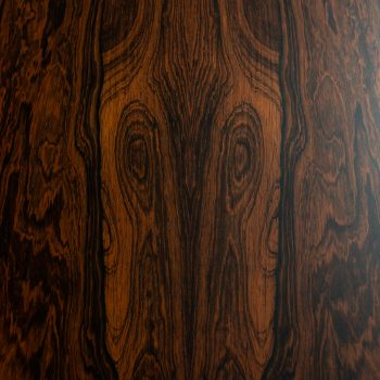Expanding bar cabinet in rosewood at Studio Schalling