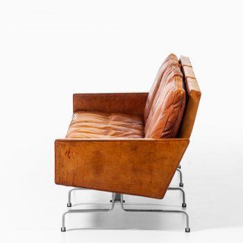 Poul Kjærholm PK-31/3 sofa by E. Kold Christensen at Studio Schalling