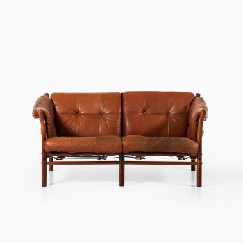 Arne Norell Ilona sofa in leather at Studio Schalling