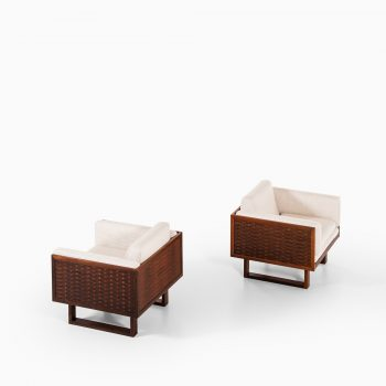 Poul Cadovius easy chairs by France & Son at Studio Schalling