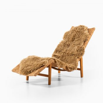 Pair of lounge chairs in the manner of G.A. Berg at Studio Schalling