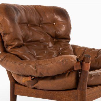 John Mortensen easy chairs model 4521 by Magnus Olesen at Studio Schalling