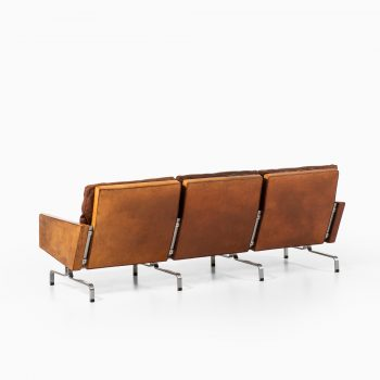 Poul Kjærholm PK-31/3 sofa by E. Kold Christensen at Studio Schalling