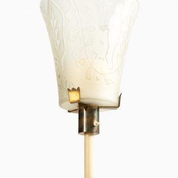 Bo Notini floor lamp produced by Glössner & Co at Studio Schalling