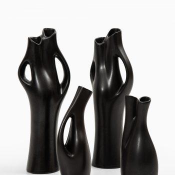 Lillemor Mannerheim Mangania ceramic vases at Studio Schalling