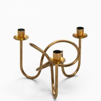 Josef Frank candlestick in brass at Studio Schalling