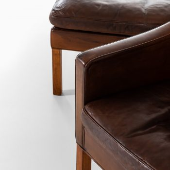 Børge Mogensen wingback easy chair model 2204 at Studio Schalling
