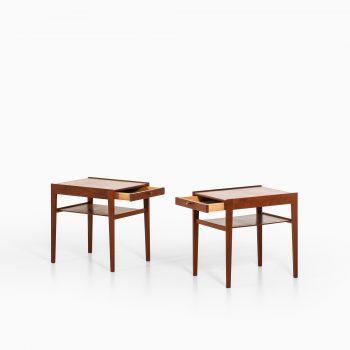 Sven Engström & Gunnar Myrstrand Dixi bedside tables at Studio Schalling