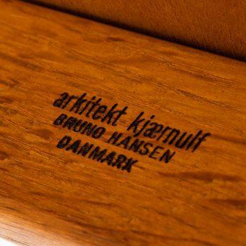 Henning Kjærnulf dining chairs model 255 at Studio Schalling