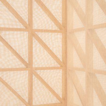 Folding screen / room divider in oregon pine at Studio Schalling