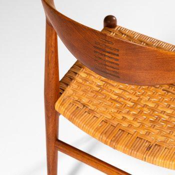 Hans Wegner JH-505 cowhorn armchair at Studio Schalling