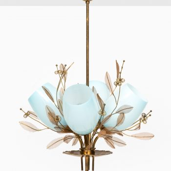 Paavo Tynell ceiling lamp model 9029/4 by Taito Oy at Studio Schalling