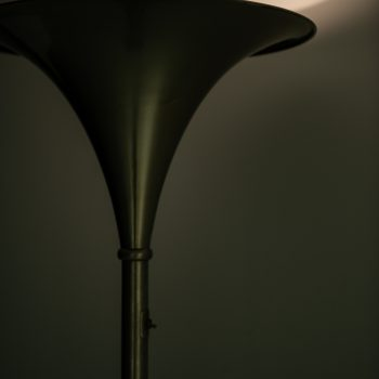 Large floor lamp / uplight attributed to William Watting at Studio Schalling