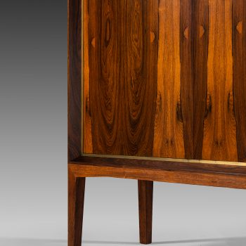 Mogens Lysell cabinet in rosewood and brass at Studio Schalling