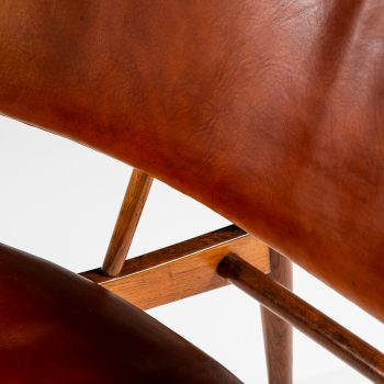 Ib Kofod-Larsen easy chairs model DP 9 at Studio Schalling