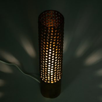 Pierre Forsell table lamp in brass by Skultuna at Studio Schalling