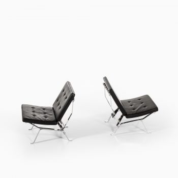 Pair of easy chairs attributed to Olivier Mourgue at Studio Schalling